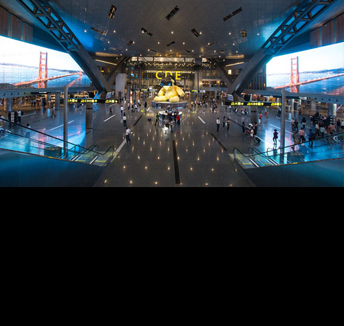 Hamad International Airport-mobile-black